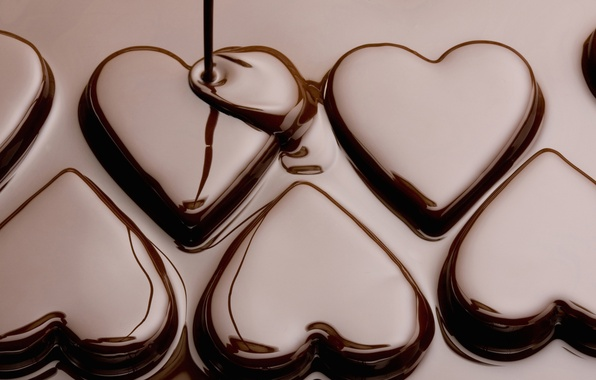 Picture love, holiday, heart, food, chocolate, texture, love, heart, texture, food, hearts, chocolate, sweet, holiday