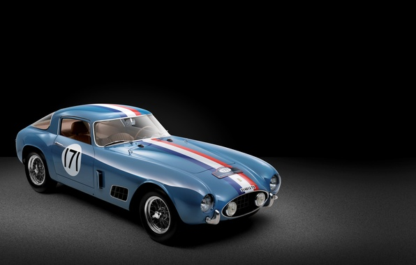 Picture Ferrari, cars, 1956, Berlinetta, 250 GT, Tour de France, Race Car, classic