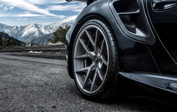 Picture wheel, 911, Porsche, black, disk, Porsche, Carrera, Turbo, Carrera, 2015