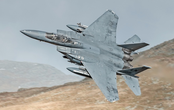 Picture aviation, weapons, the plane, F15E