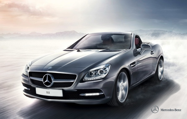 Picture Mercedes-Benz, convertible, Mercedes, 2011, SLK, R172