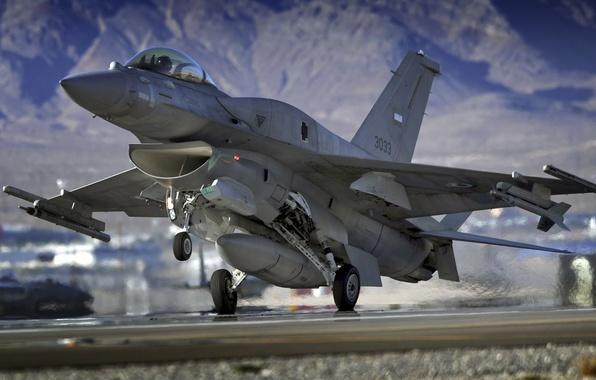 Picture aviation, Wallpaper, fighter, America, the rise, F16 Falcon