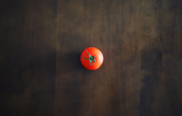 Picture red, table, background, Wallpaper, shadow, minimalism, tomato