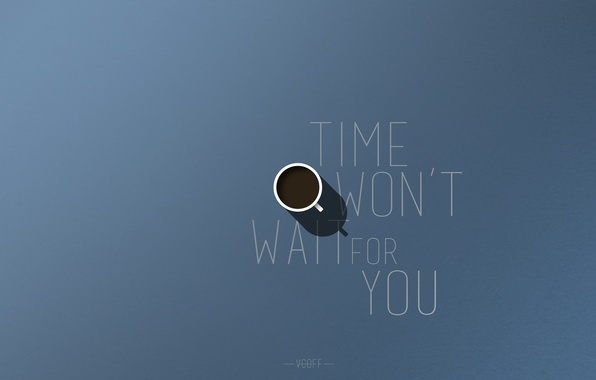 Picture time, style, labels, coffee, minimalism, mug, motivation, vcoff