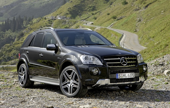 Picture Mercedes-Benz, Mercedes, AMG, crossover, W164, ML-Class