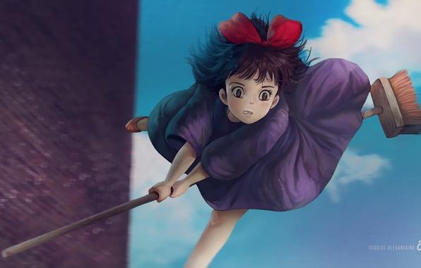 Photo Wallpaper Anime Kikis Delivery Service Studio Ghibli