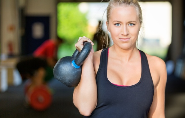 Picture look, athlete, crossfit, kettlebell
