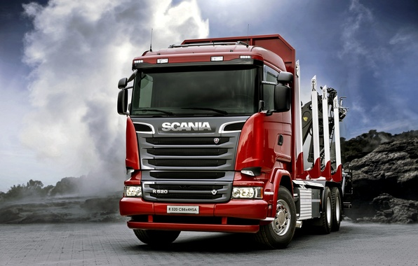Picture truck, Scania, Scania, 2013, 6x4, machinery, R520