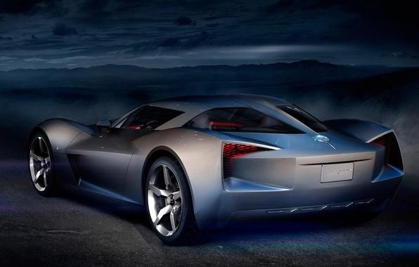 Picture Concept, night, Corvette, Chevrolet, Stingray