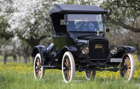 Picture retro, Ford, classic, 1923 Ford Model T