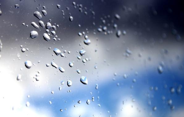 Picture the sky, glass, drops, photographer, Alex Bazilev