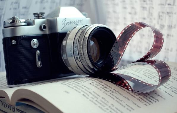 Picture notes, camera, the camera, film, book, rarity, Zenit, film