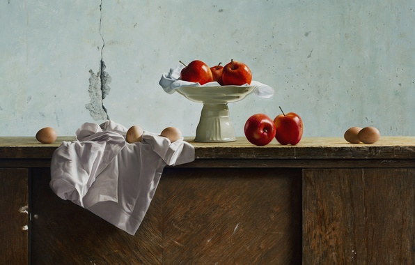 Picture background, art, fruit