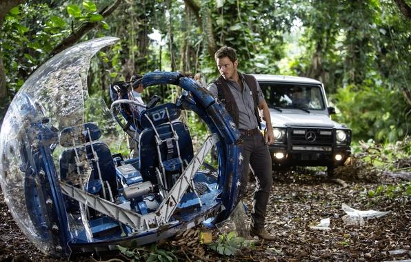 Picture fiction, frame, Chris Pratt, Jurassic world, Jurassic World, Chris Pratt