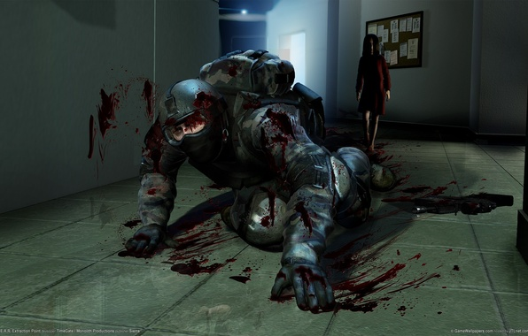 Picture blood, murder, soldiers, fear, extraction points, Alma