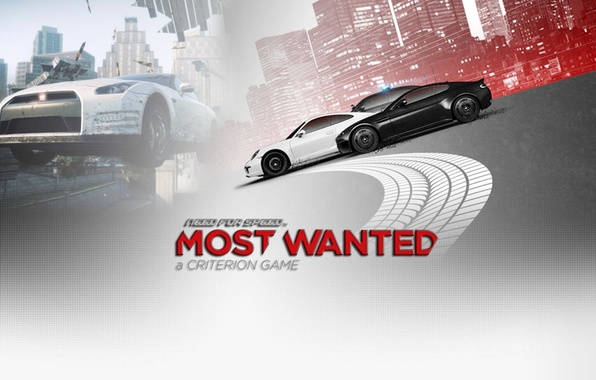 Picture background, the inscription, race, need for speed most wanted 2