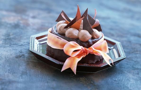 Picture the sweetness, food, chocolate, ice cream, cake, dessert, ribbon