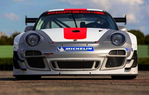 Picture Auto, 911, Porsche, The hood, Lights, Porsche, The front, GT3 R