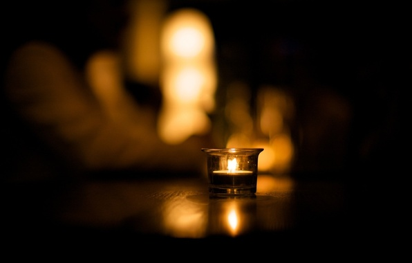 Picture macro, light, style, photo, fire, Wallpaper, shadow, floor, picture, candle, image