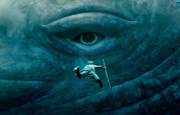 Photo wallpaper Chris Hemsworth, eyes, the situation, In the Heart of the Sea, under water, In the ...