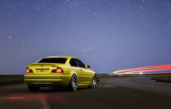 Picture bmw, road, tuning, e46