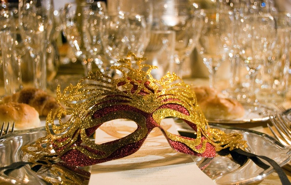 Picture MASK, GLASS, GLASSES, CRYSTAL, FEAST