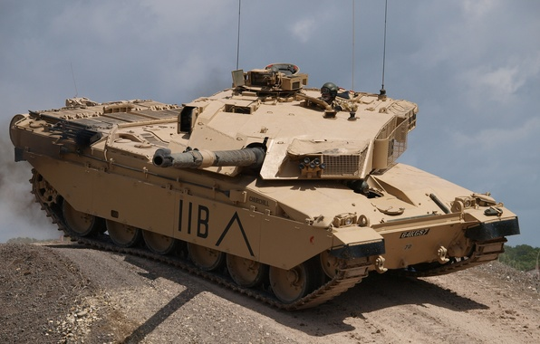 Picture tank, Challenger, British, Challenger, the main battle tank of the land forces of great Britain