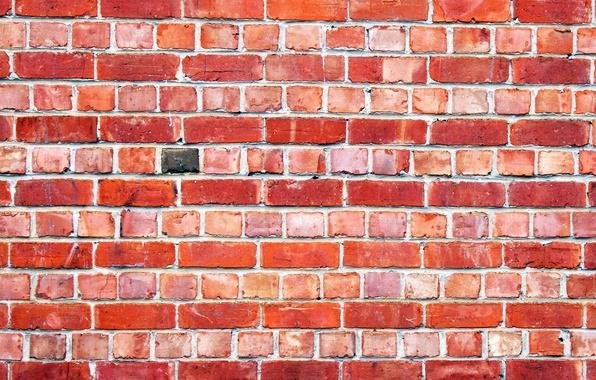 Picture wall, brick, texture, masonry