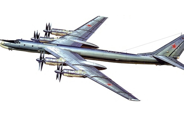Picture bomber, missile, strategic, Soviet, Tu-95MS, turboprop, Intercontinental, Bear