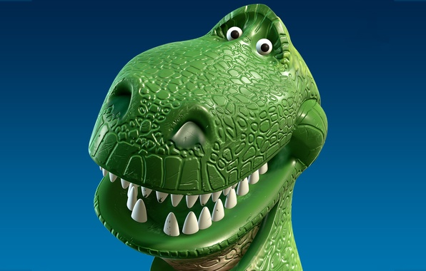 Picture toy, cartoon, dinosaur