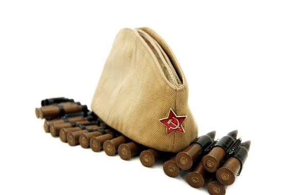 Picture star, May 9, victory day, bullets, 1941-1945, pussy