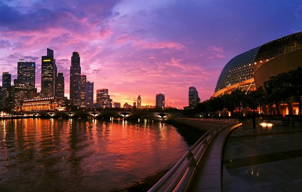 Wallpaper singapore of the building home city for Wallpaper home singapore