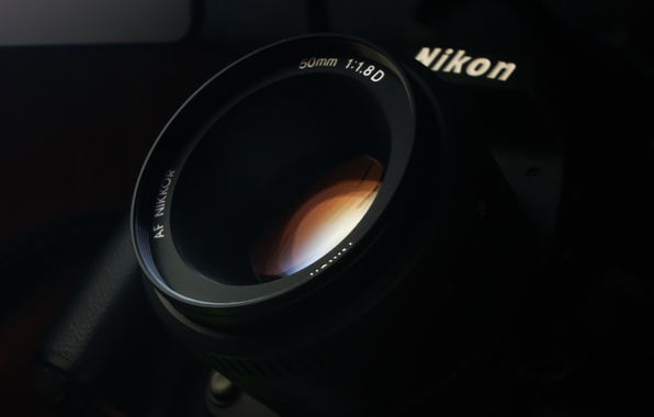Picture glass, photo, Wallpaper, camera, the camera, lens, lens, nikon, Nikon, Lunin Novel, 50 mm