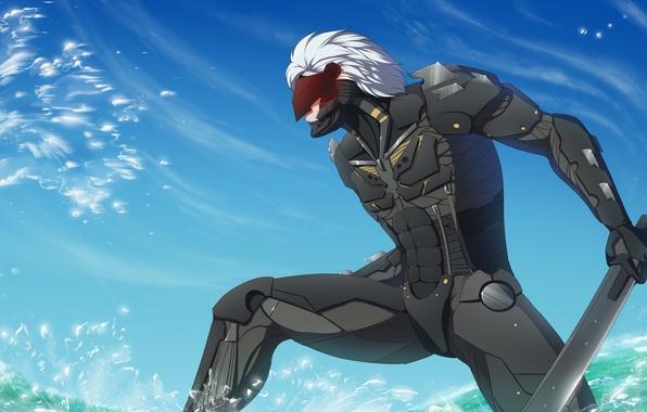 Picture Snake, art, Raiden, Metal Gear Rising: Revengeance, Jack, Jack the Ripper, Platinum Games, Konami, Mr. …