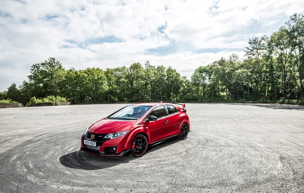 Picture Honda, Honda, Civic, UK-spec, civici, Type R, 2015