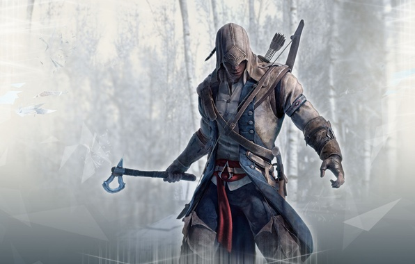 Picture killer, assassin, assassins creed, Desmond, Assassin's Creed III, Radunhageydu, ac3, Connor, assassin's creed