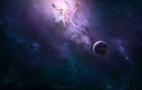 Picture space, planet, art, space, universe, art, planets