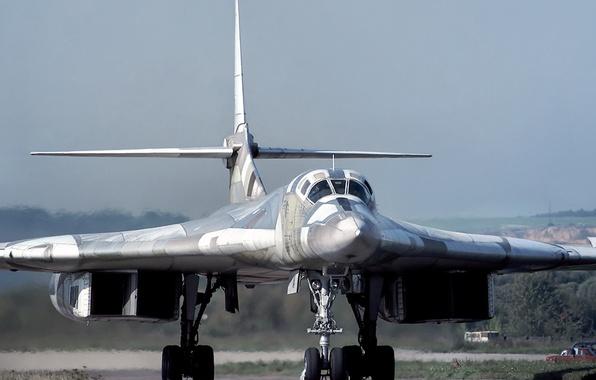 Picture aviation, bomber, strategic, The Tu-160