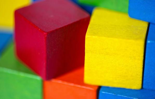 Picture background, cubes, color