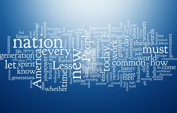 Picture blue, design, letters, creative, blue, world, minimalism, texture, words, different, texture, must, creative, people, words, ...