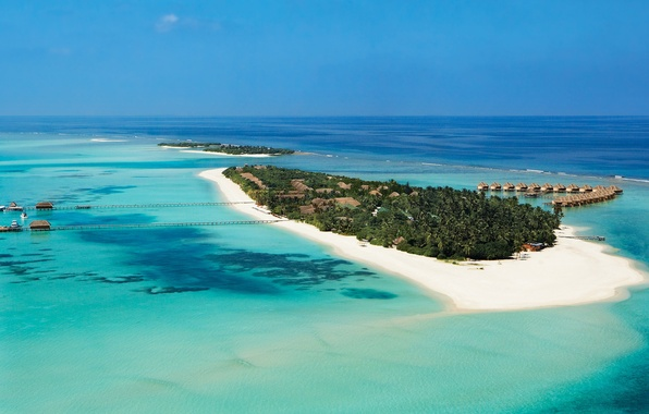 Picture Islands, nature, the ocean, the Maldives, Maldives, islands