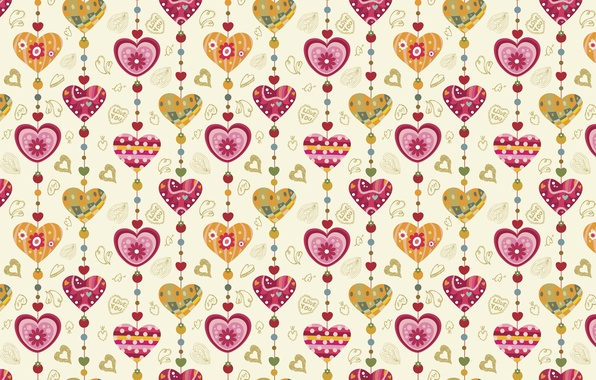 Picture holiday, heart, vector, texture, heart, drawings, hearts, love, widescreen Wallpaper, the Wallpapers, hd Wallpapers, hd …