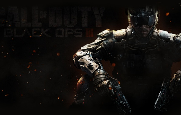 Picture weapons, guns, hero, Call of Duty: Black Ops 3