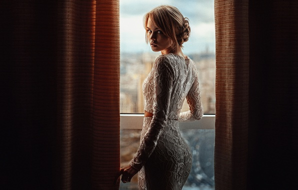 Picture window, Nastya, George Chernyadev, Anastasia Shcheglova