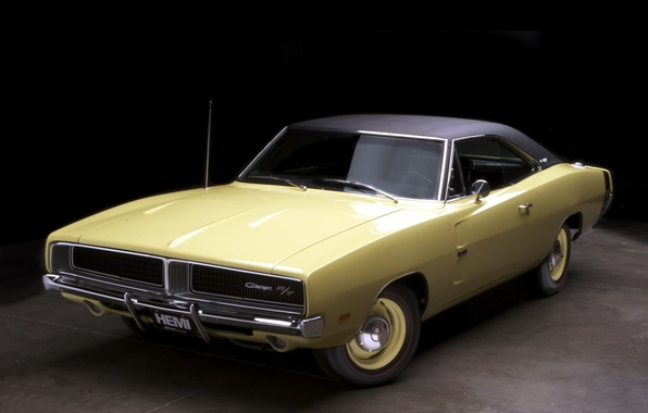Picture Dodge, 1969, Muscle, Car, Car, Wallpapers, Musclecar, Dodge Charger, The charger, R/T, Wallpaper, The front, …