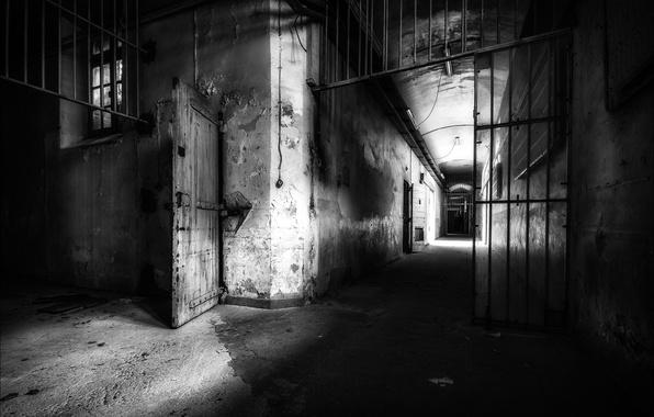 Picture background, camera, prison