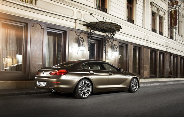 Photo wallpaper BMW, BMW, 6 series, 6 Series, 640 d