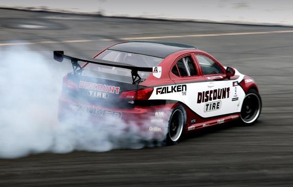 Picture Lexus, drift, IS350