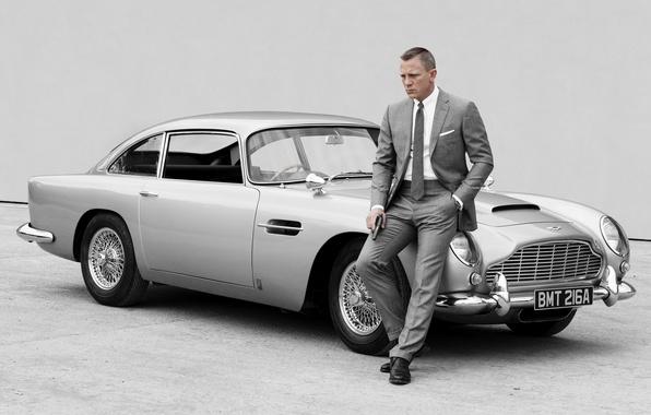 Picture James Bond, 007, James Bond, Daniel Craig, Skyfall, Aston Martin DB5, 007 Coordinates Skayfoll
