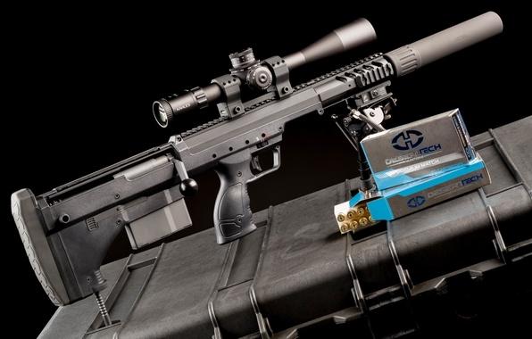 Picture weapons, optics, muffler, sniper rifle, fry
